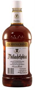 Philadelphia Blended Whiskey 80@ 1.00l - Case of 12